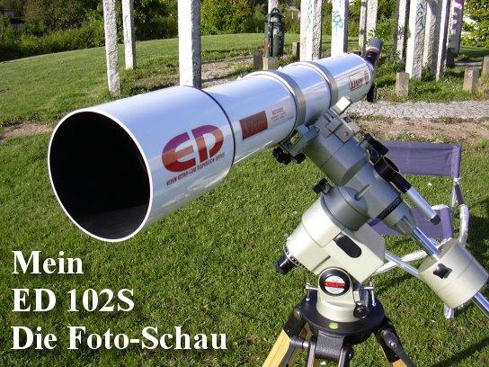 Refraktor bermata teleskop astronomi dengan adaptor
